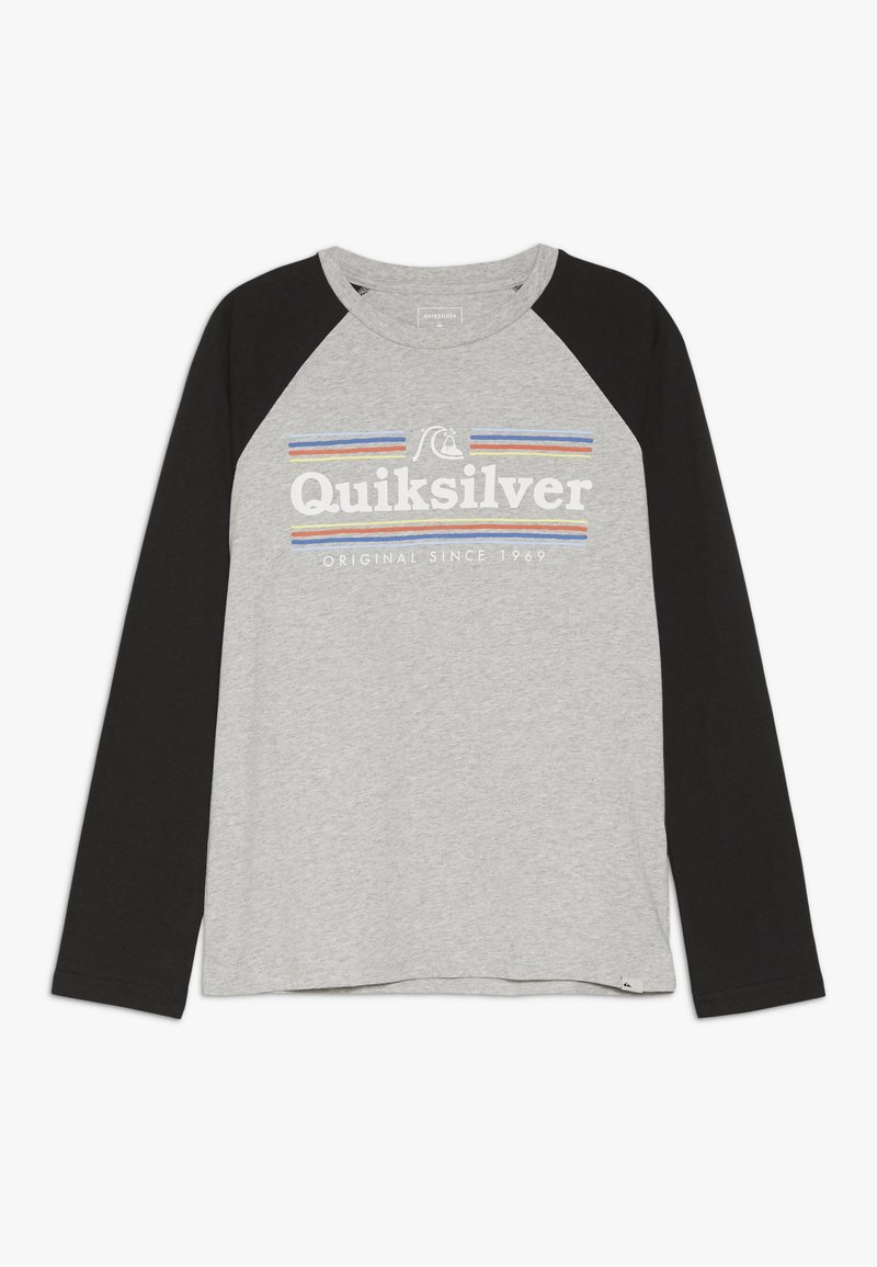 Quiksilver - GET BUZZY - Langarmshirt - athletic heather