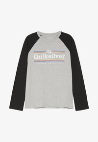Quiksilver - GET BUZZY - Langarmshirt - athletic heather - 2