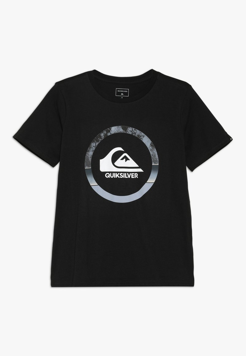 Quiksilver - SNAKE DREAMS  - Print T-shirt - black