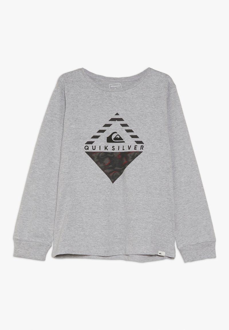 Quiksilver - STORMY DAY RETHIN  - Long sleeved top - light grey heather