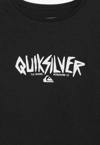 Quiksilver - ROUGH TYPE RETHIN  - T-shirt à manches longues - black - 3
