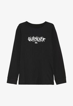 ROUGH TYPE RETHIN  - T-shirt à manches longues - black