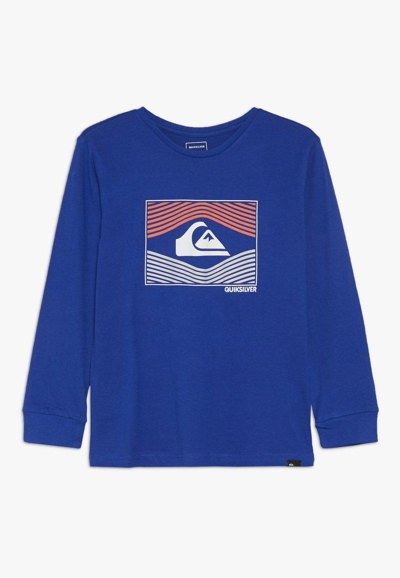 Quiksilver - TRIP WIRE RETHIN  - T-shirt à manches longues - dark blue