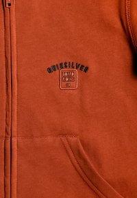 Quiksilver - BOODEREE GEM - Zip-up hoodie - burnt brick - 2