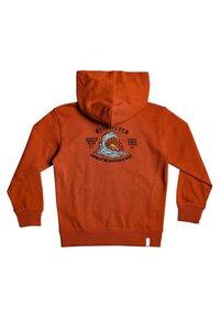 Quiksilver - BOODEREE GEM - Zip-up hoodie - burnt brick - 1