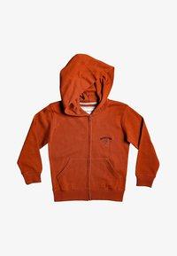Quiksilver - BOODEREE GEM - Zip-up hoodie - burnt brick - 0