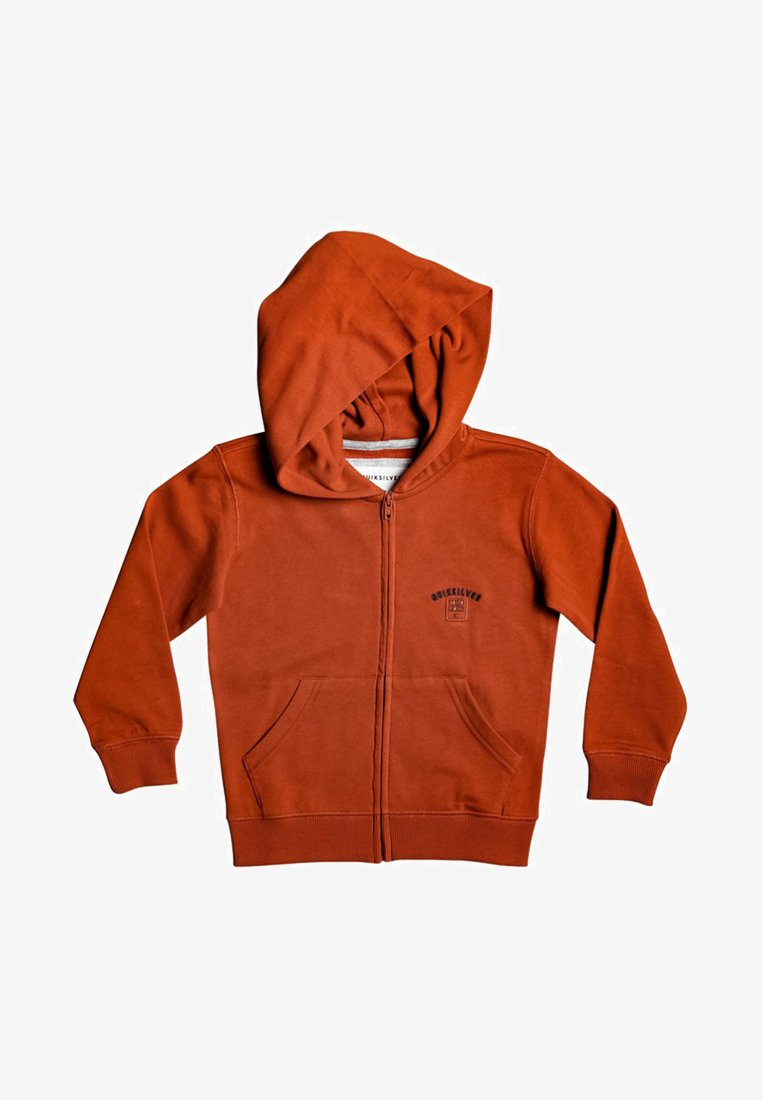 Quiksilver - BOODEREE GEM - Zip-up hoodie - burnt brick