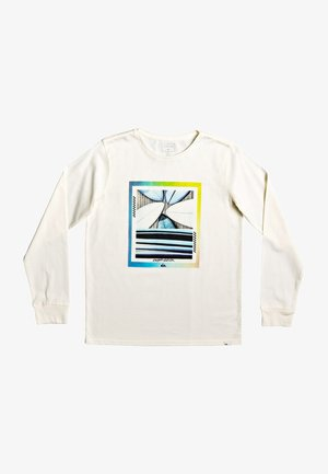 Longsleeve - antique white heather