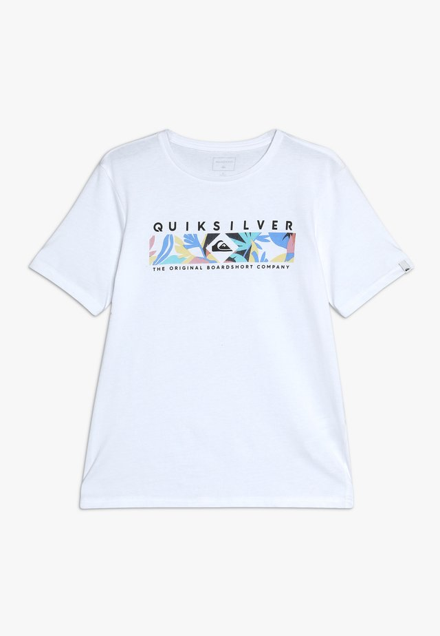 DISTANT FORTUNE - T-shirt imprimé - white