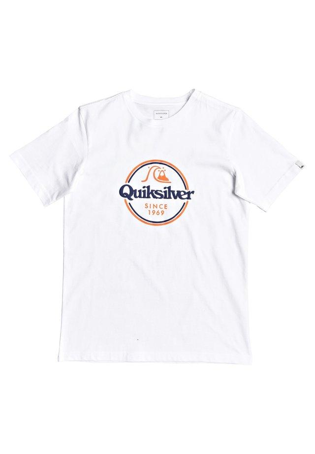 WORDS REMAIN - Print T-shirt - white