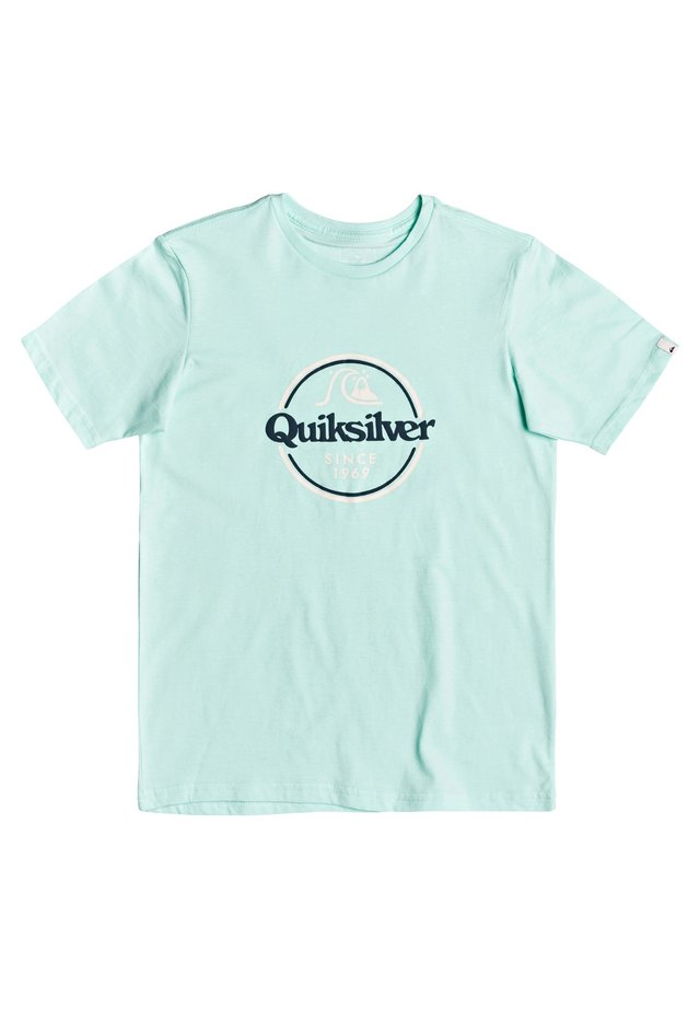 WORDS REMAIN - Print T-shirt - beach glass