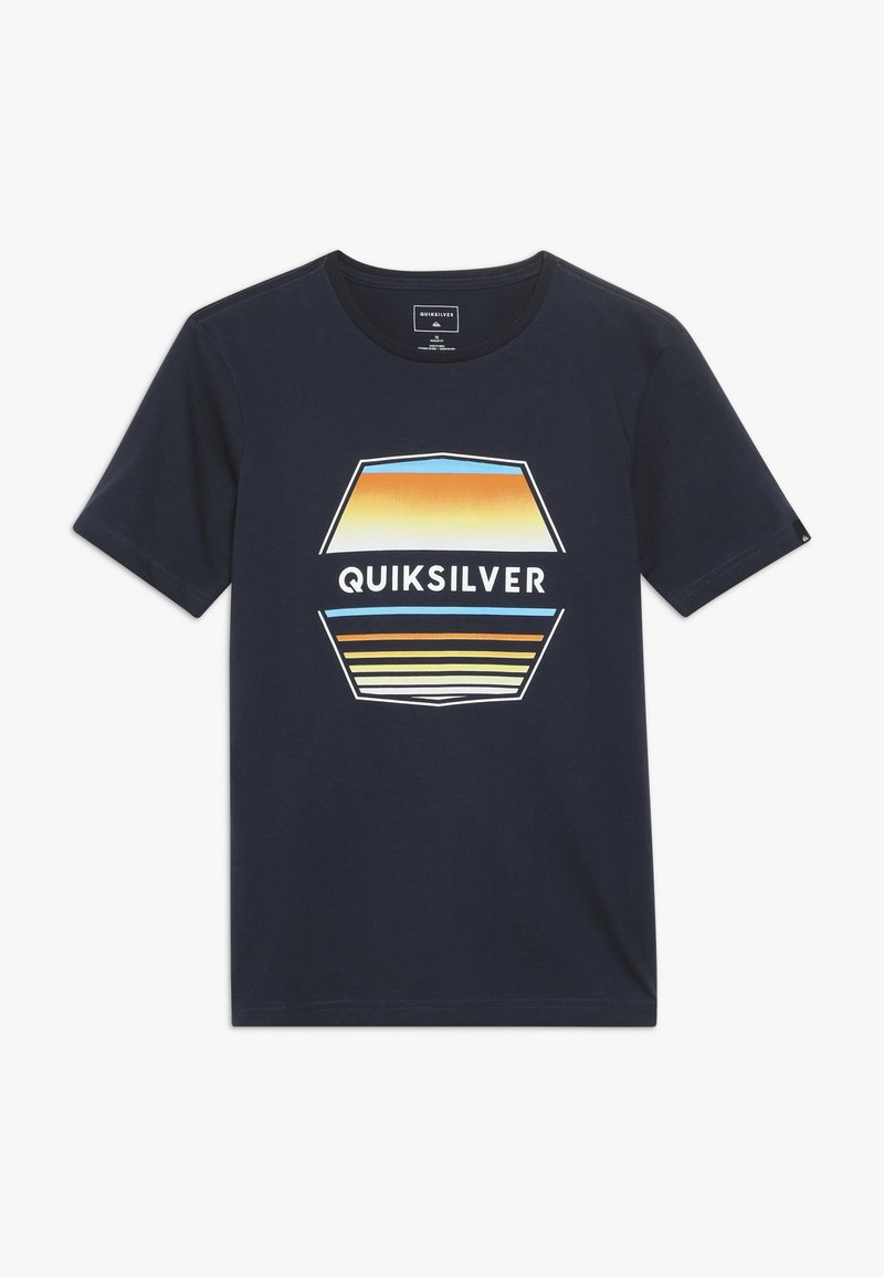 Quiksilver - DRIFT AWAY - T-shirt imprimé - navy blazer