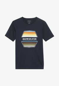 Quiksilver - DRIFT AWAY - T-shirt imprimé - navy blazer - 2