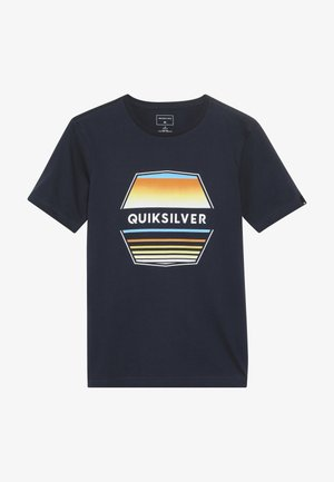 DRIFT AWAY - Print T-shirt - navy blazer