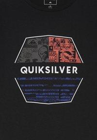 Quiksilver - DRIFT AWAY - T-shirt print - black - 3