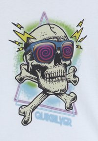 Quiksilver - HELL REVIVAL - T-shirt con stampa - white - 4