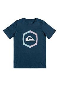 Quiksilver - SURE THING - Print T-shirt - majolica blue - 0