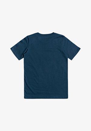 SURE THING - T-shirt imprimé - majolica blue