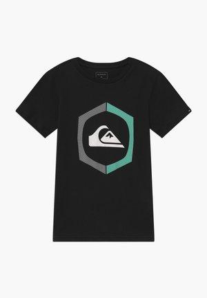 SURE THING - T-shirt imprimé - black