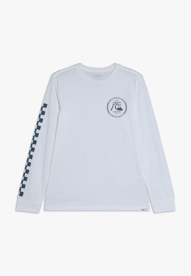 GOLDEN EMBER - Maglietta a manica lunga - white