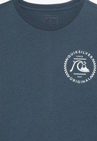 Quiksilver - GOLDEN EMBER - T-shirt à manches longues - majolica blue - 4