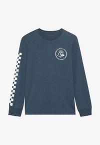 Quiksilver - GOLDEN EMBER - T-shirt à manches longues - majolica blue - 3
