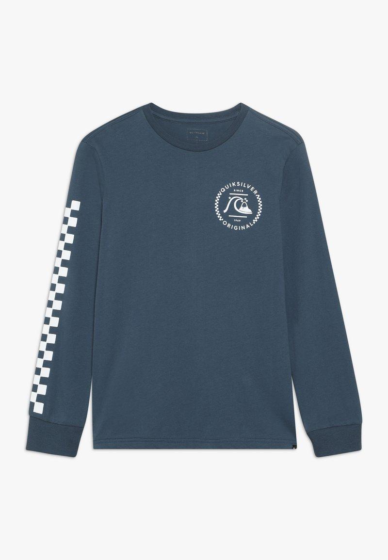 Quiksilver - GOLDEN EMBER - T-shirt à manches longues - majolica blue