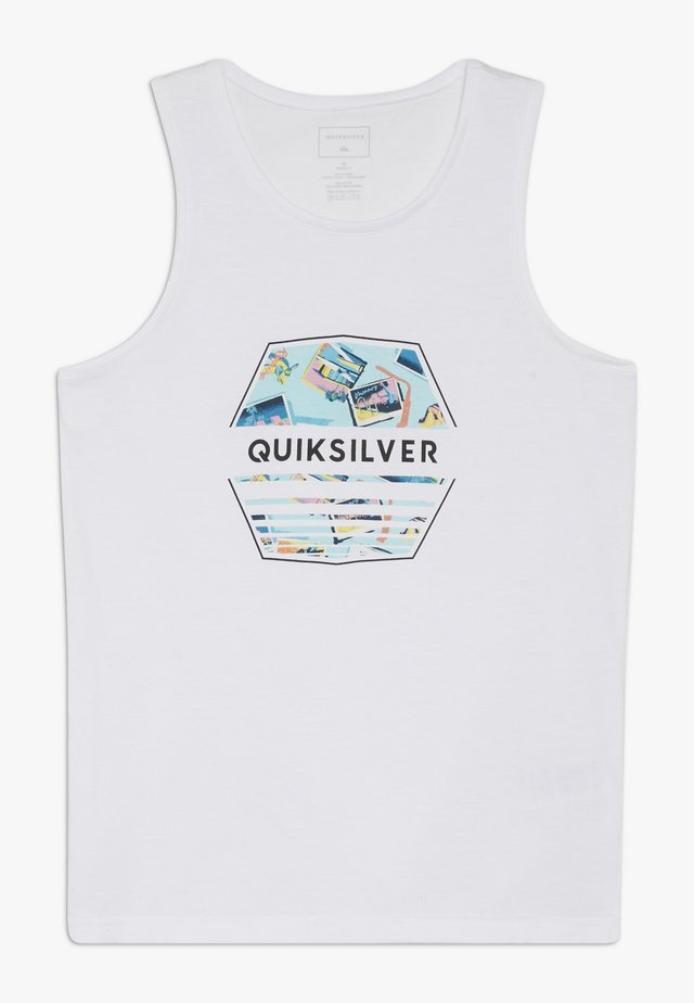 DRIFT AWAY TANK - Top - white