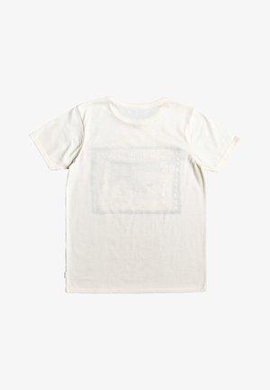 QUIKSILVER™ DOUBLE THREAT - T-SHIRT FÜR JUNGEN 8-16 EQBZT04019 - Print T-shirt - antique white heather