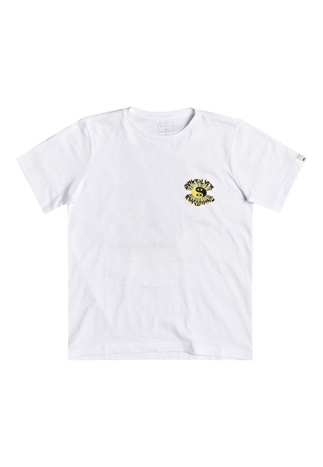 QUIKSILVER™ X RAY CAFÉ - T-SHIRT FÜR JUNGEN 8-16 EQBZT04132 - T-shirt print - white