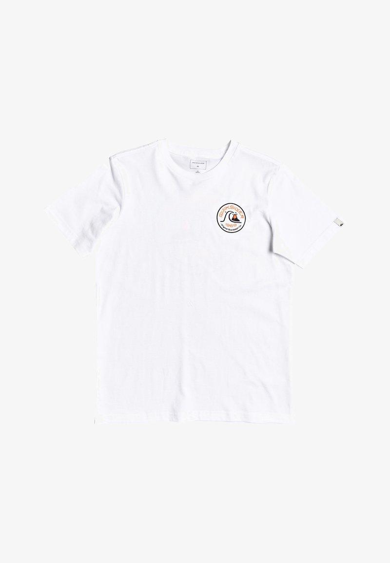 Quiksilver - T-shirt imprimé - white