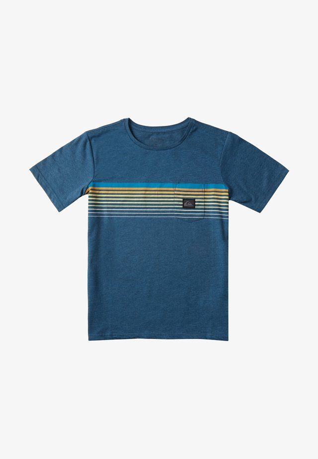 SLAB - TASCHEN - T-Shirt print - majolica blue heather