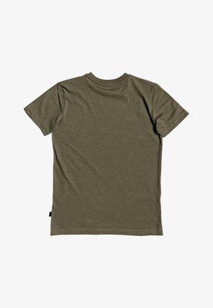 QUIKSILVER™ DRUM FIRE - T-SHIRT FÜR JUNGEN 8-16 EQBZT04168 - Print T-shirt - kalamata