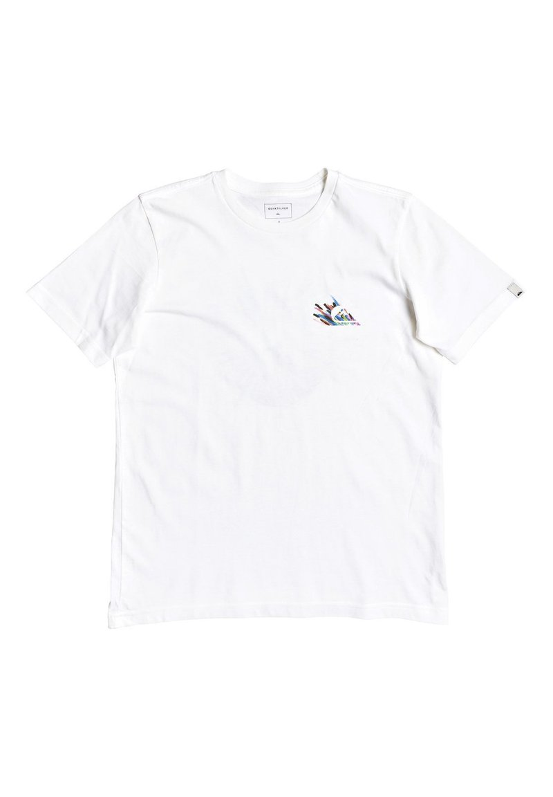 Quiksilver - QUIKSILVER™ SHALLOW WATER - T-SHIRT FÜR JUNGEN 8-16 EQBZT04139 - T-shirt imprimé - white