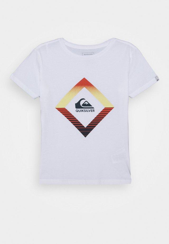 TROPICAL MIRAGES - T-shirt imprimé - white