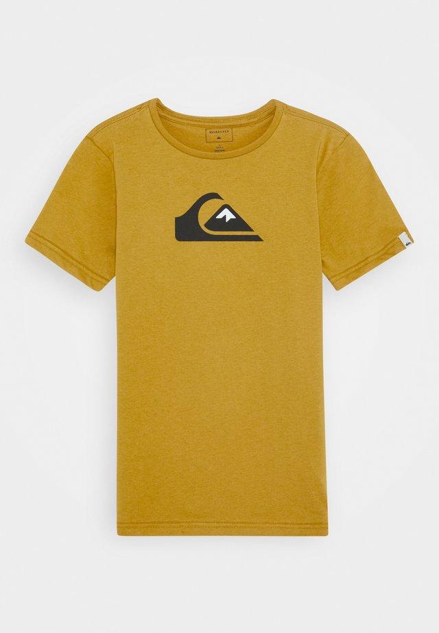 LOGO YOUTH - T-Shirt print - honey