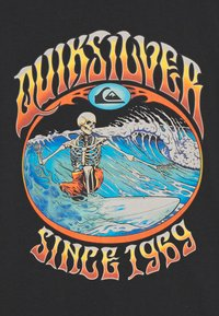 Quiksilver - LOST ALIBI YOUTH - T-shirt con stampa - black - 2