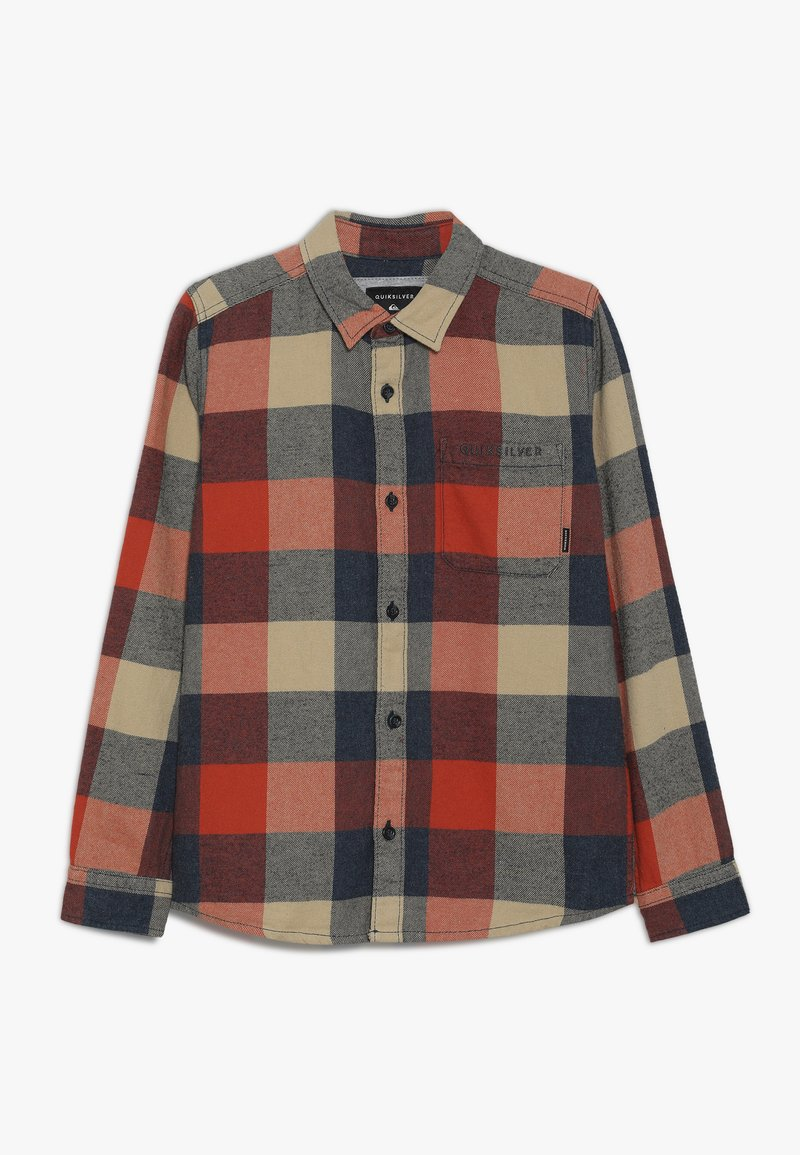 Quiksilver - MOTHERFLY YOUTH - Shirt - burnt brick