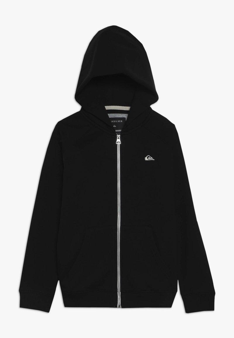 Quiksilver - EVERYDAY ZIP YOUTH - veste en sweat zippée - black