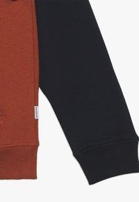 Quiksilver - EVERYDAY ZIP YOUTH - veste en sweat zippée - burnt brick - 2