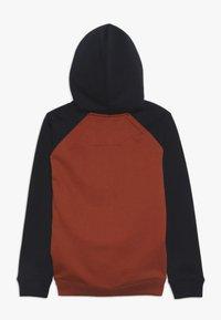 Quiksilver - EVERYDAY ZIP YOUTH - veste en sweat zippée - burnt brick - 1