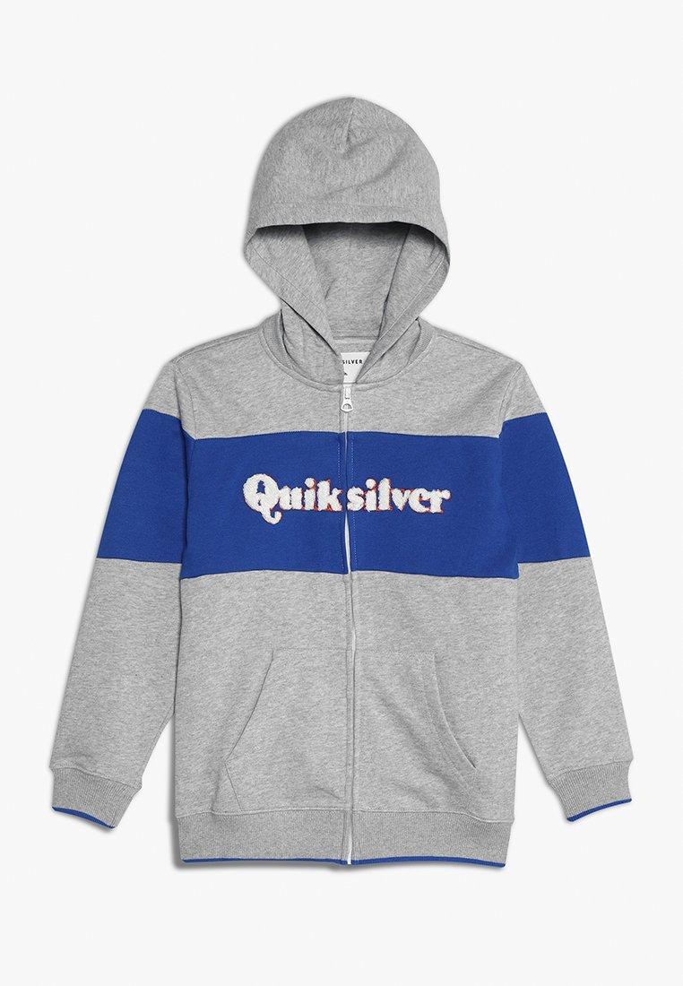Quiksilver - POWER SLASH ZIP YOUTH - Zip-up hoodie - light grey heather