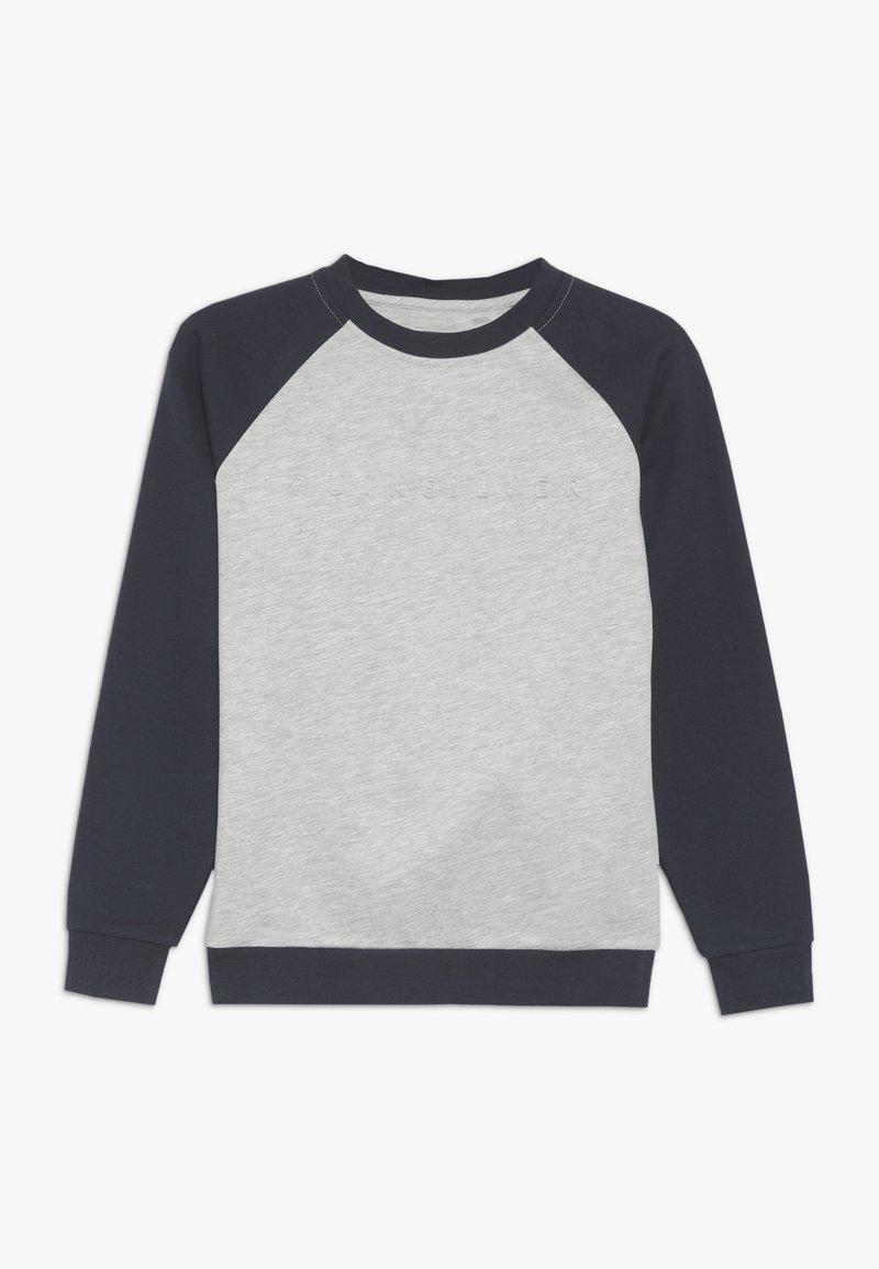 Quiksilver - BERRY PATCH CREW YOUTH - Sweatshirt - light grey heather
