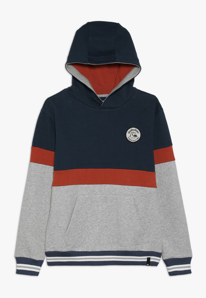 Quiksilver - TASSIE GULLY HOOD YOUTH - Sweat à capuche - moonlit ocean