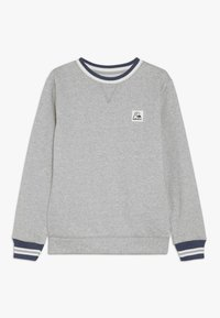 Quiksilver - WILSONS POMY CREW YOUTH - Sweatshirt - light grey heather - 0