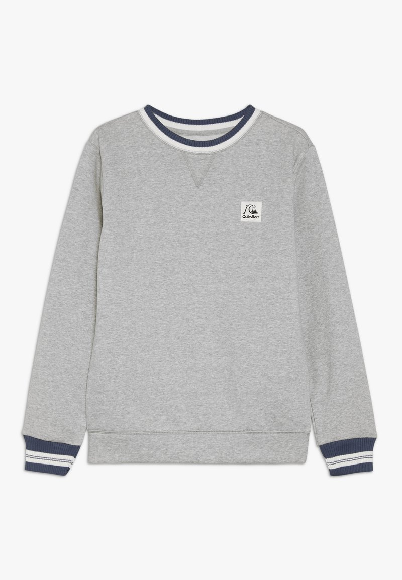 Quiksilver - WILSONS POMY CREW YOUTH - Sweatshirt - light grey heather