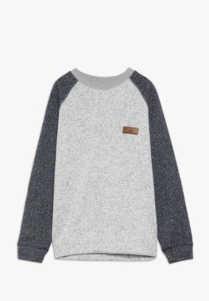 KELLER BLOCK CREW YOUTH - Sweatshirt - light grey heather
