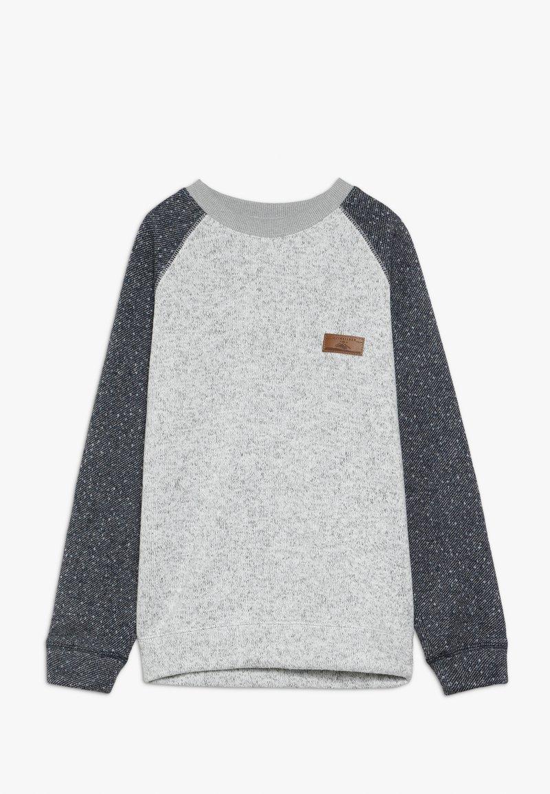 Quiksilver - KELLER BLOCK CREW YOUTH - Sweatshirt - light grey heather