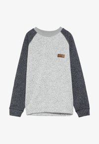 Quiksilver - KELLER BLOCK CREW YOUTH - Collegepaita - light grey heather
