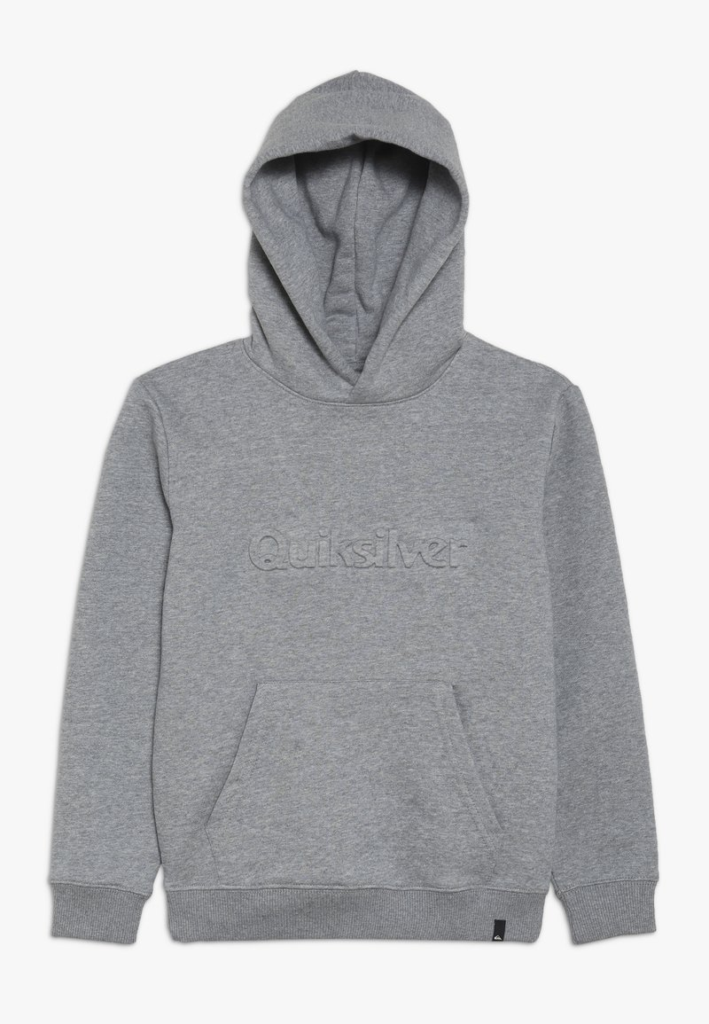 Quiksilver - EMBOSS HOOD YOUTH - Luvtröja - medium grey heather